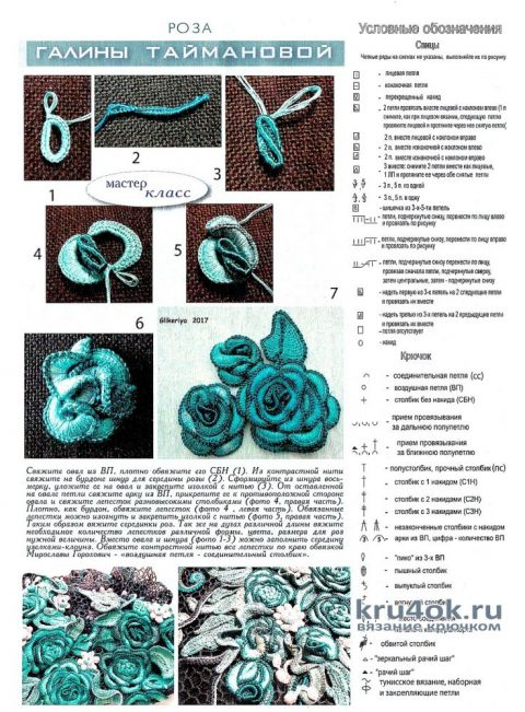 Сумочка Малахитовый цветок связана в технике ирландского кружева вязание и схемы вязания