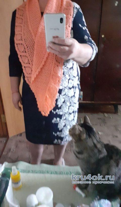 Вязанные крючком шарфы. Работы Альбины Ваниной вязание и схемы вязания