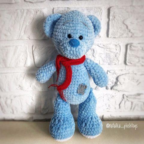 Плюшевый мишка в стиле Тедди