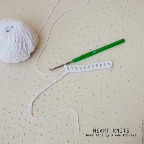 100 схем вязания сетки крючком 4