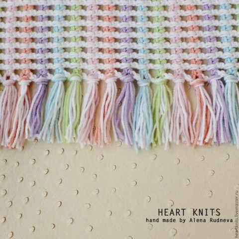 100 схем вязания сетки крючком 7