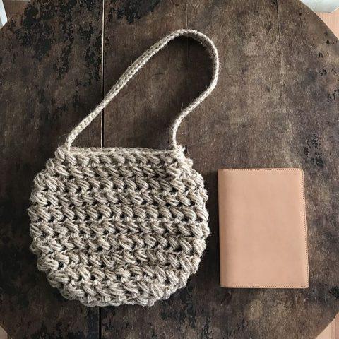 Узор для летней сумочки из джута