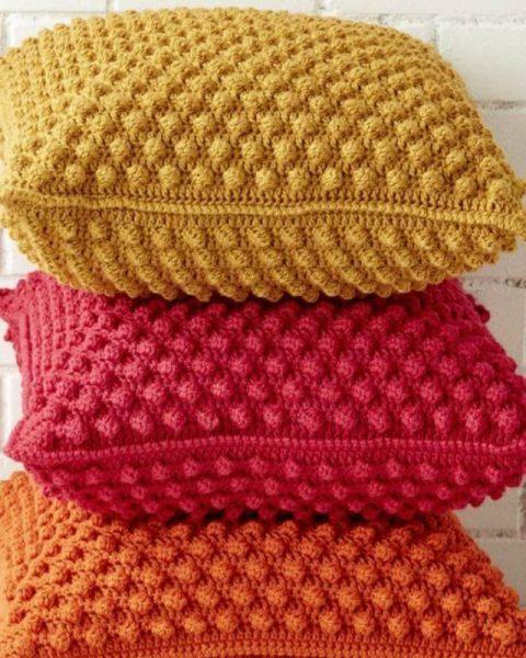чехол для подушки бабушкин квадрат