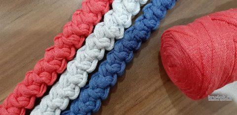 5 вариантов ручек для вязаной сумки - легко связать самому вязание и схемы вязания