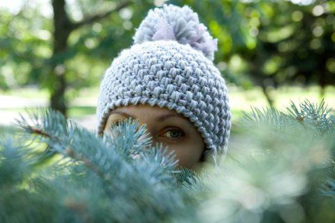 Отличный плотный узор для шапочки: