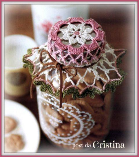 Салфетки для украшения баночек с вареньем и соленьями