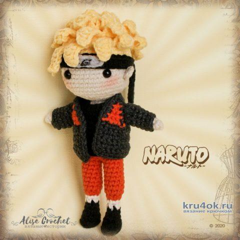 Наруто Удзумаки, игрушка связанная крючком. Работа Alise Crochet