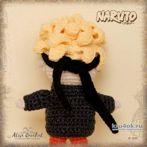Наруто Удзумаки, игрушка связанная крючком. Работа Alise Crochet вязание и схемы вязания