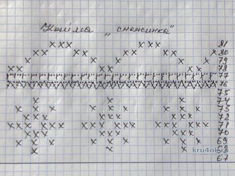 Скатерть новогодняя, связанная крючком. Работа Надежды Борисовой вязание и схемы вязания