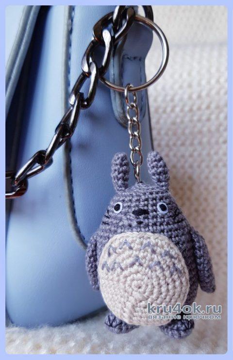 Тоторо амигуруми крючком. Работа Ксении вязание и схемы вязания
