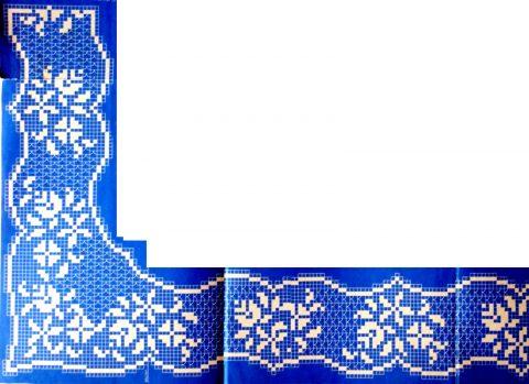 Подборка схем и описаний для вязания крючком каймы и обвязки
