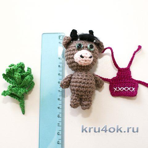 Амигуруми бычок - символ 2021 года от kru4ok.ru