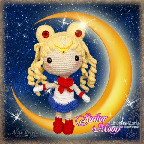 Прекрасная воительница Сейлор Мун (кукла крючком). Работа Alise Crochet