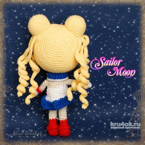 Прекрасная воительница Сейлор Мун (кукла крючком). Работа Alise Crochet вязание и схемы вязания