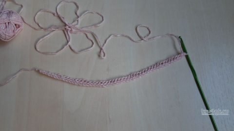 Вяжем крючком эластичный наборный край, видео-урок вязание и схемы вязания