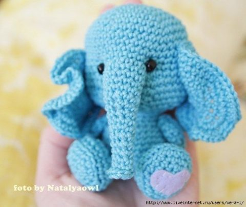 Слон крючком 1