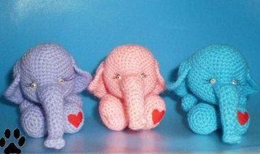Слон крючком 4