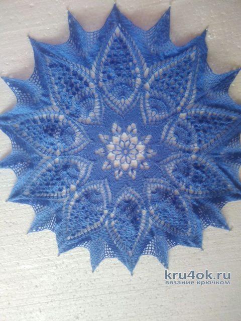 Красивая салфетка крючком. Работа Татьяны Ивановны вязание и схемы вязания
