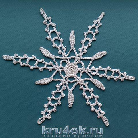Вяжем ВЕЛИКОЛЕПНЫЕ снежинки крючком