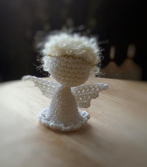 Маленький ангел крючком
