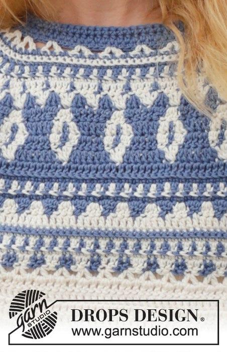свитер лопапейса крючком