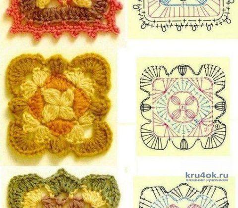 Накидка на кресло, крючком. Работа Николая Мошкина вязание и схемы вязания