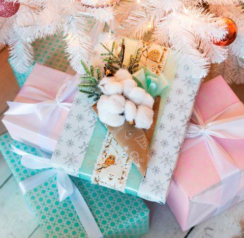 Праздничная упаковка «С новым годом»