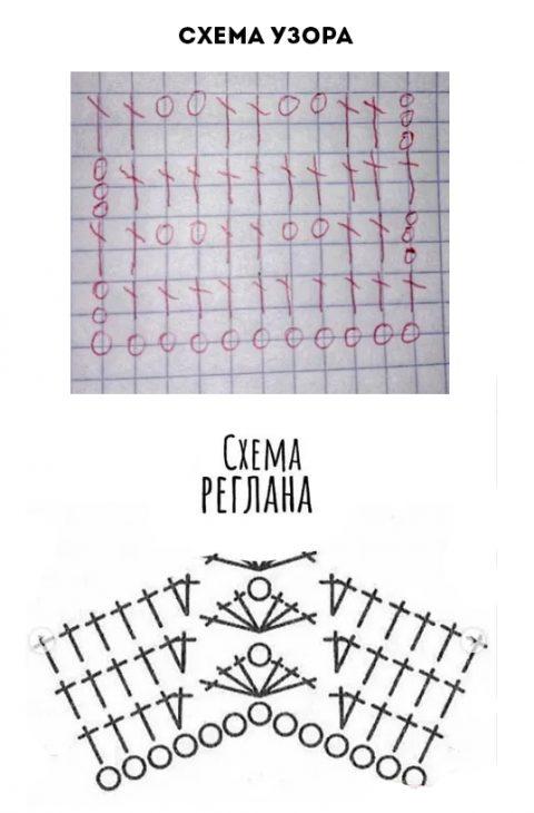 Схемы для вязания кардигана для полных женщин крючком