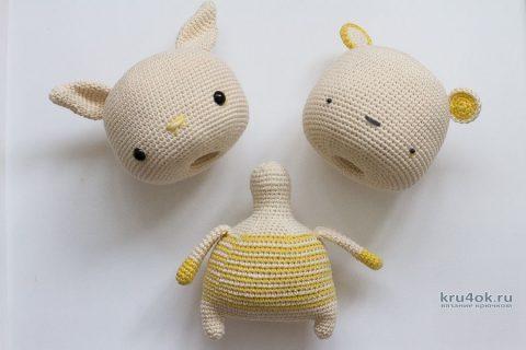 Описание вязания крючком игрушки «CHANGE-IMAGE-TOY» (игрушка смени образ) вязание и схемы вязания