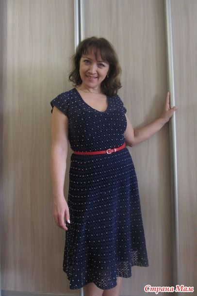 Женское платье Nostalgie крючком