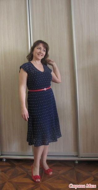 Женское платье Nostalgie крючком 4