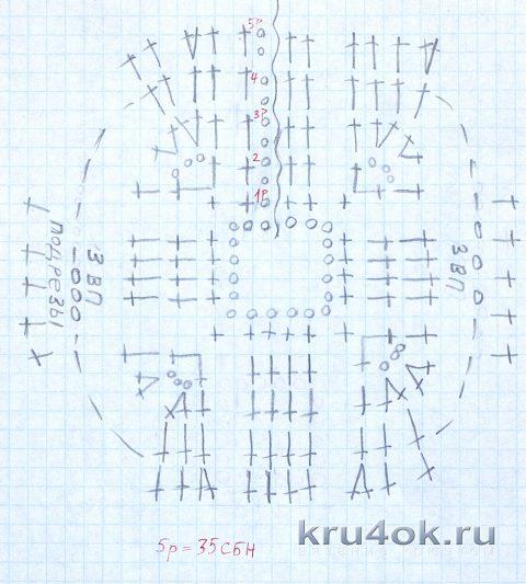 Схема вязания кофточки для котика