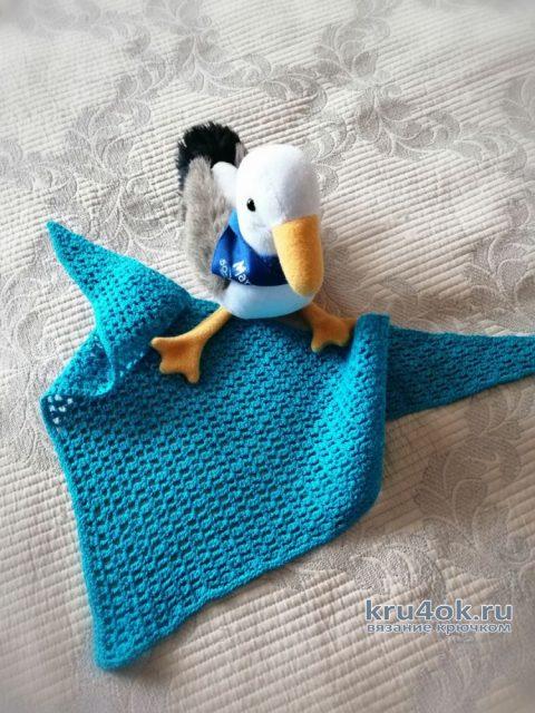 Летний бактус крючком. Работа Светланы вязание и схемы вязания