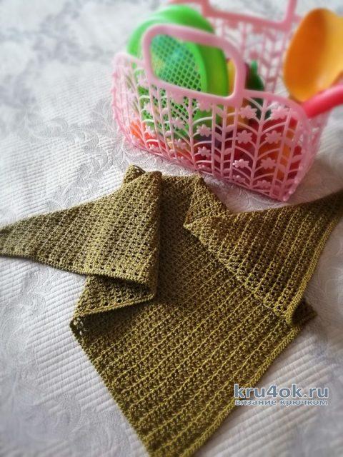 Летний бактус крючком. Работы Светланы вязание и схемы вязания