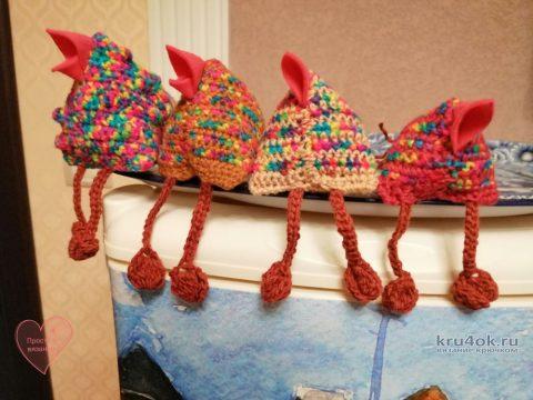 Как связать стайку весенних птичек за 1 выходной? Готовимся к Пасхе вязание и схемы вязания