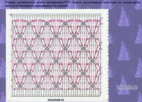 Пальто крючком. Работа Марии Варт вязание и схемы вязания