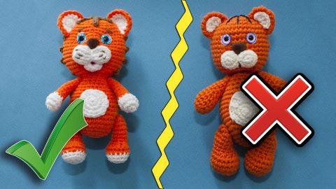 Идеальная пряжа для вязания игрушек амигуруми крючком
