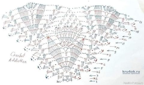 Бактус крючком. Работа Ольги Остапенко вязание и схемы вязания