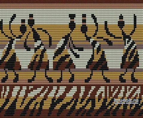 Кардиган в технике жаккард крючком. Работа Галины Бофановой вязание и схемы вязания