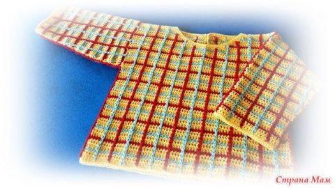 Хлопковый свитер для мальчика 0