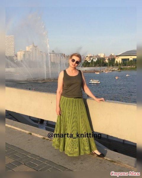 Летняя юбка для женщин крючком 0
