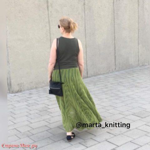 Летняя юбка для женщин крючком 1