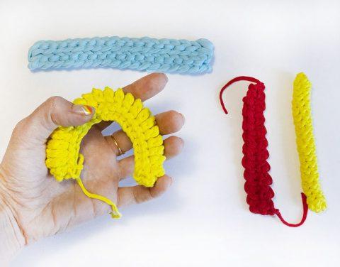 5 видов ручек для вязанной крючком сумки