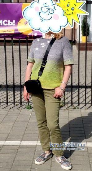 Хэйворд, связанный тунисским крючком. Работа Елены Шевчук вязание и схемы вязания