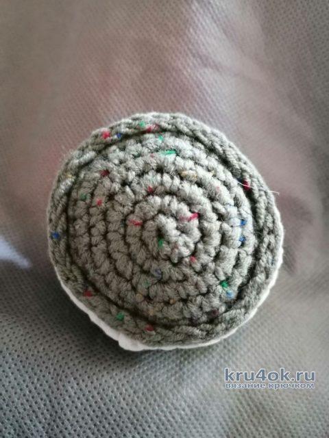 Вязанная крючком еда. Вкусняшки. Macarons - французские пирожные связанные крючком вязание и схемы вязания