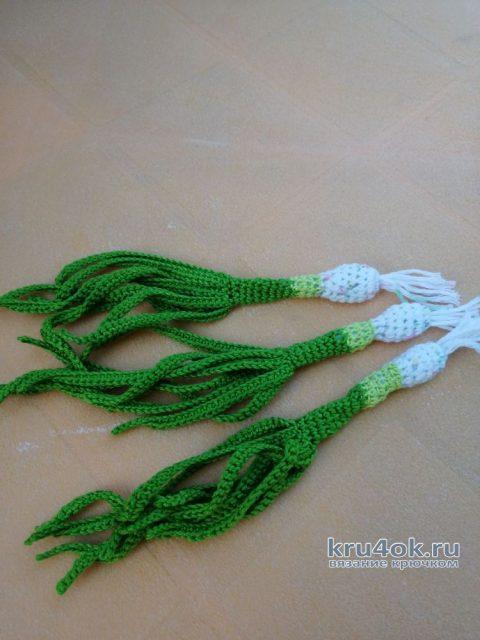 Вязанная крючком еда. Овощи для салата. Работа Светланы вязание и схемы вязания