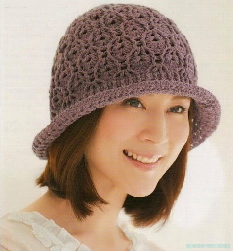 ДВЕ схемы вязания шляп/панам крючком