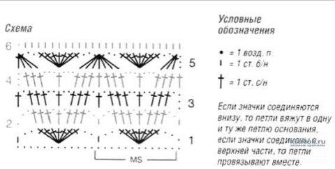Полынь - трава. Двухцветный топ, связанный крючком. Работа Светланы вязание и схемы вязания
