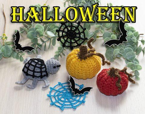 Что связать на Хеллоуин крючком, подборка схем и идей!