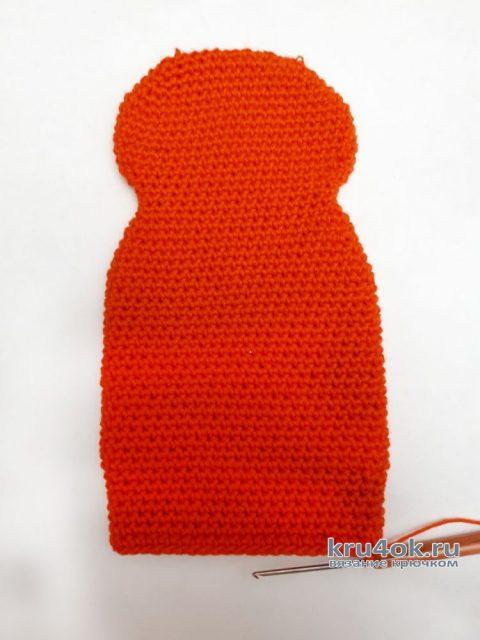 Котик-рыжик, игрушка крючком. Мастер-класс от Фланденой Татьяны вязание и схемы вязания